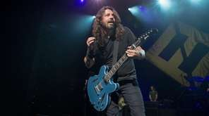 Foo Fighters perform during the iHeartRadio Foo FAnthem
