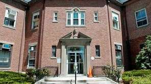 Oyster Bay Town Hall at 74 Audrey Ave.,