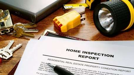 Home inspection reports can be a simple checklists
