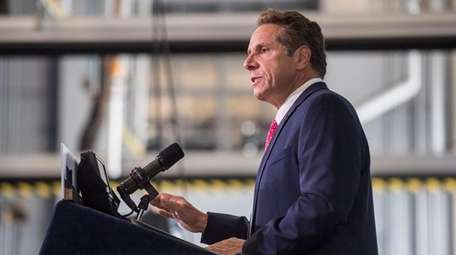 Gov. Andrew M. Cuomo, seen here on Aug.