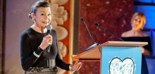 Princess Marina Sturdza, patron of the charity Hope