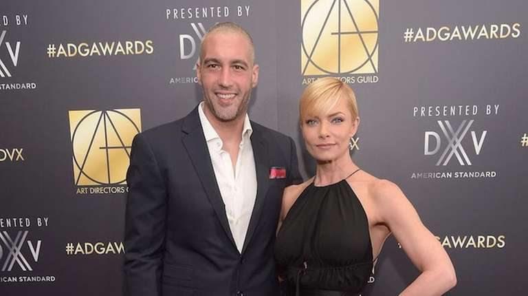Jaime Pressly and Hamzi Hijazi welcomed twins Leo