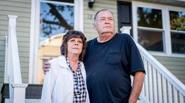 Cathy and John Fallon's one-bedroom home in the