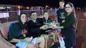 John F. Kennedy Bellmore High School students won