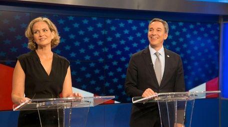 Candidates for Nassau County Executive, Democrat Laura Curran,