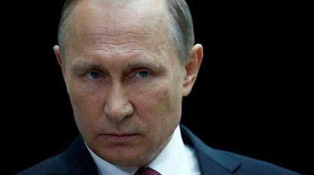 Russian President Vladimir Putin is the subject of