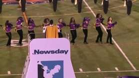 Central Islip High School performs at the 55th