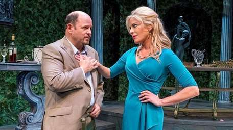 Sparks fly between Jason Alexander and Sherie Rene