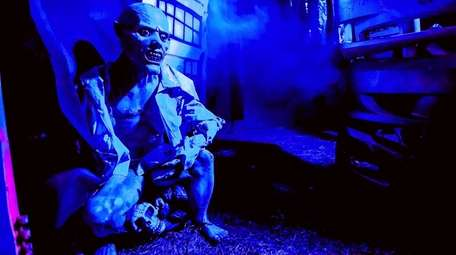Creatures await in the Haunted Maze at the