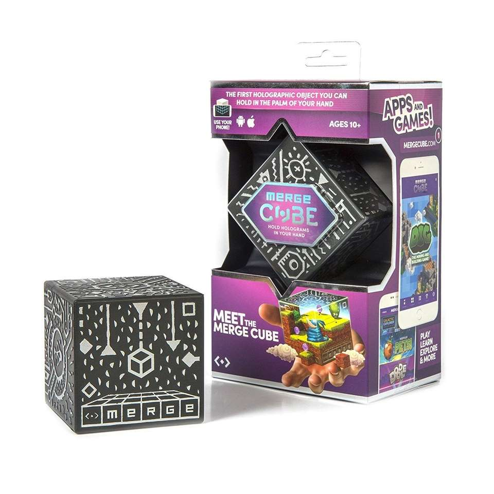 The Merge Cube is the first holographic object