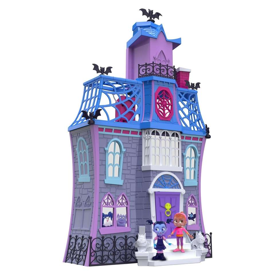 Featuring three floors of fun, this playset was