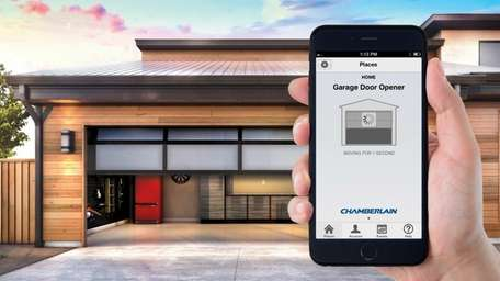 Chamberlain MyQ allow you to operate your garage
