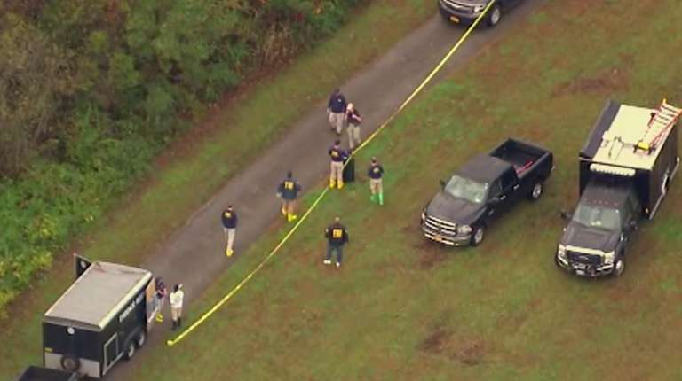 The FBI's Long Island Gang Task Force, acting
