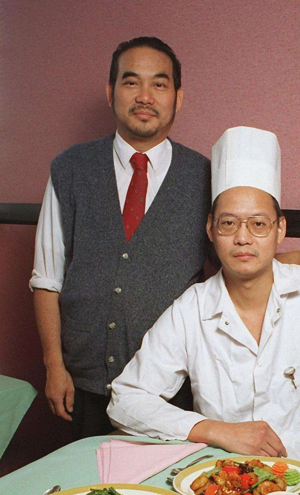John and Peter Chau, owners of Hunam Restaurant