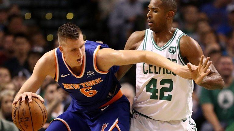 Al Horford #42 of the Boston Celtics