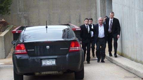 Federal agents Wednesday morning arrested James Burke, the