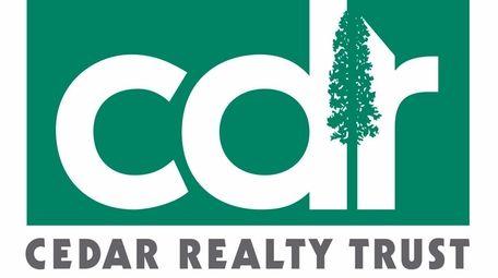 The logo for Port Washington-based Cedar Realty Trust