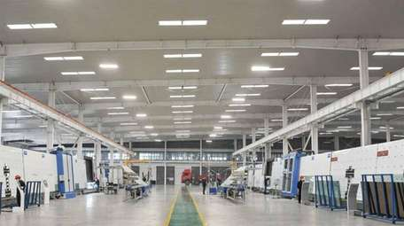 A WHTB Glass facility in China: The manufacturer
