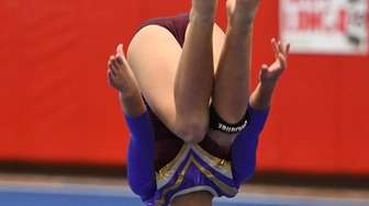 Catherine Lyden of Bay Shore/Islip competes in the
