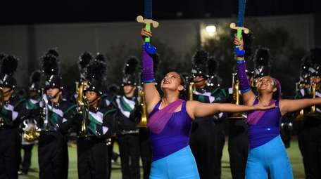 Brentwood High School's marching band, known as the