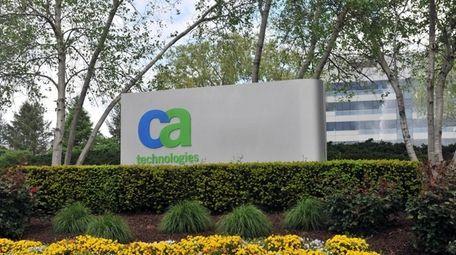 CA Technologies reported revenue of $1.03 billion, a