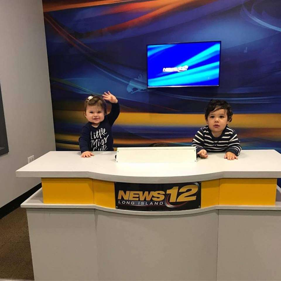 Lorenzo and Charlotte reporting from the News 12