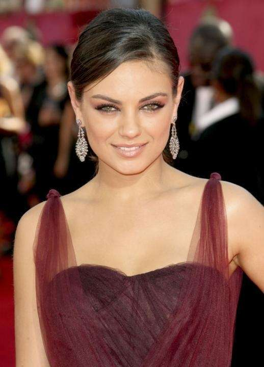 Actress Mila Kunis arrives at the 61st Primetime