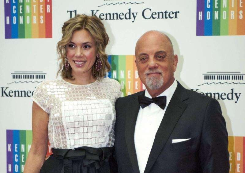 Oct. 22 (2017): Billy Joel and wife Alexis