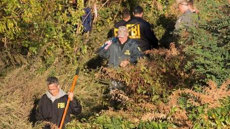 Several law enforcement agencies were searching Friday evening,