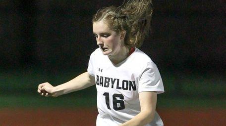 Babylon's Sophie Ryan, who scored the winning goal,