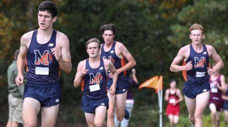 Manhasset takes the top six places at the