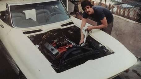 Ron Euliano, with his 1967 Corvette.