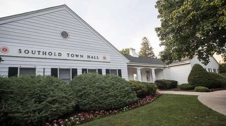 Southold Town Hall in Southold on July 12,