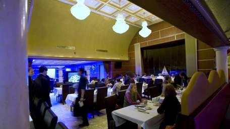 A view of the dining area at Dao,