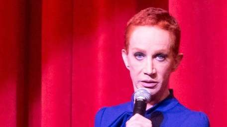 Comedian Kathy Griffin at the Orpheum Theatre on
