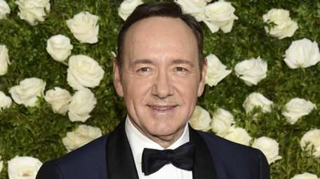 Actor Kevin Spacey arrives at the 71st annual