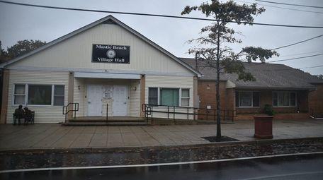 Mastic Village Hall on Neighborhood Road on Sunday,