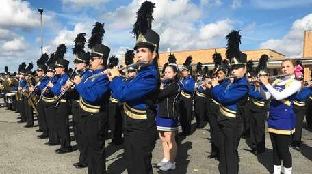 East Meadow High School held its homecoming celebration