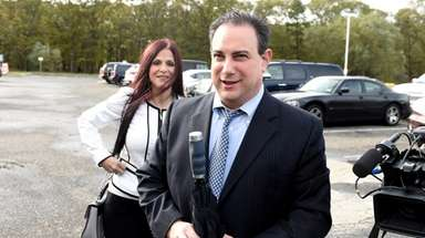 Martin Tankleff arrives at federal court in Central