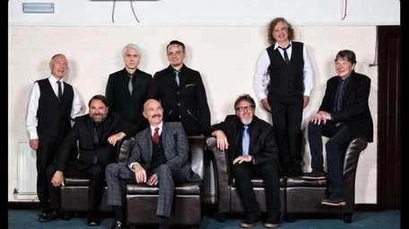 The 2017 version of the band King Crimson.