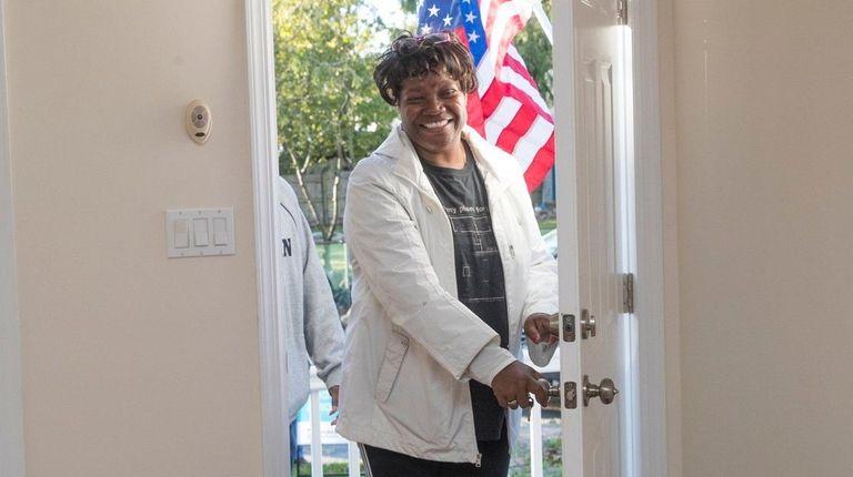 Youlanda Carey, a veteran and a Habitat for
