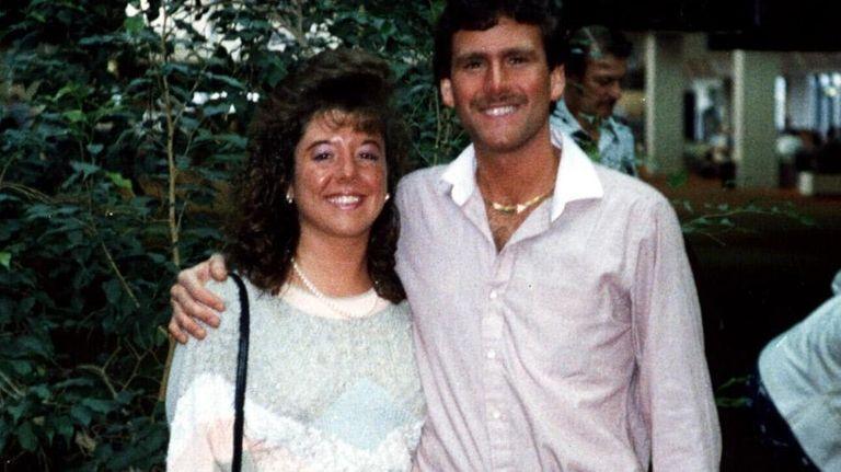 Matthew Solomon and Lisa Solomon on their honeymoon