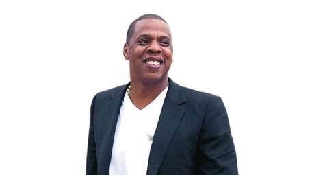 Jay-Z, pictured at the Philadelphia Museum of Art