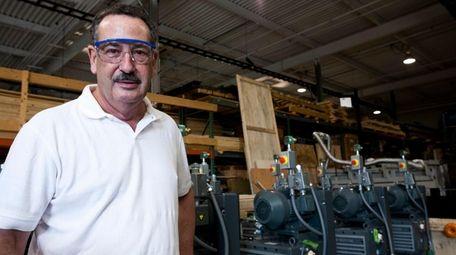 Leonard Rosenbaum, president and CEO of CVD Equipment