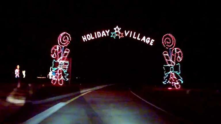 take a drive through the jones beach holiday - Jones Beach Christmas Light Show