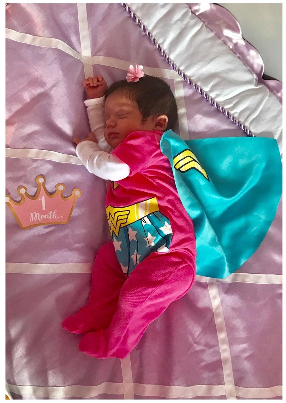 Happy one month Emma Rose/Wonder Woman