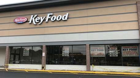 A Key Food supermarket, seen here on Sept.