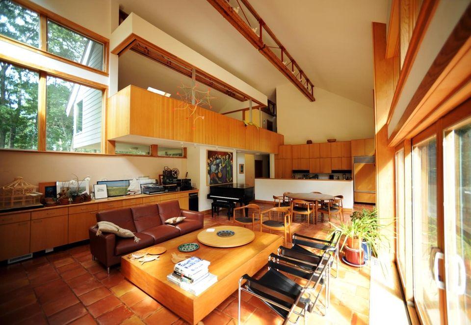 Inside the East Hampton home of Bill Chaleff,