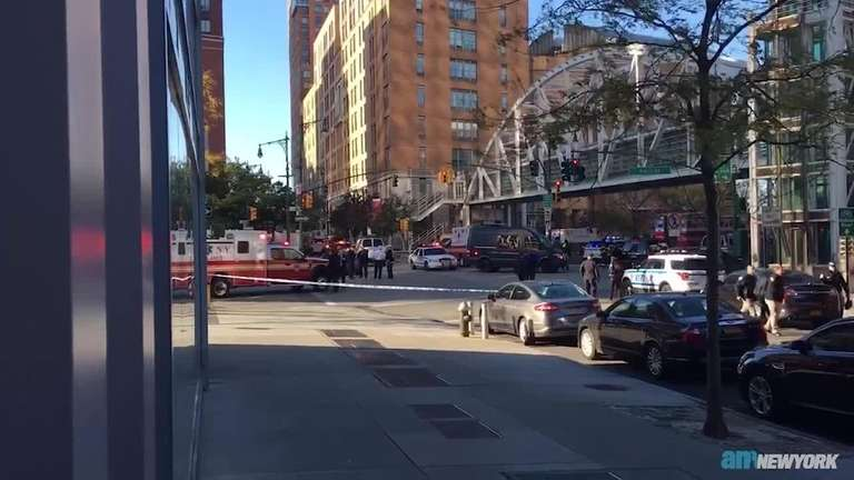 New York City officials say eight people were