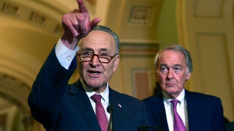 Senate Minority Leader Sen. Chuck Schumer (D-N.Y.) on